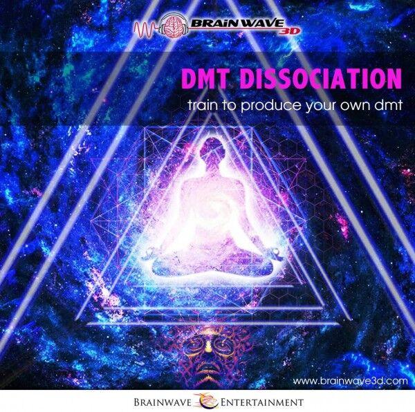 DMT Dissoziation 963 Hz Sehr starke Zirbekldrüsen Ton-Aktivierung binaurale beats isochorone töne