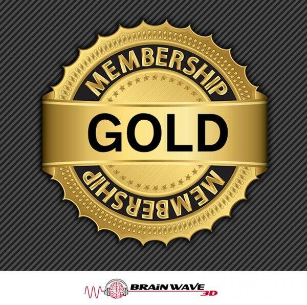 Gold Membership - Brainwave 3D