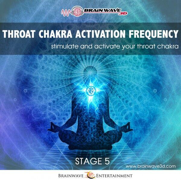 Hals-Chakra öffnen aktivieren brainwave binaurale beats frequenz