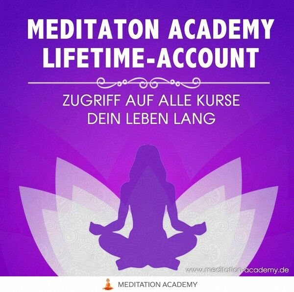 Meditation Academy - Lifetime Account - United Academy by Marko C. Lorenz